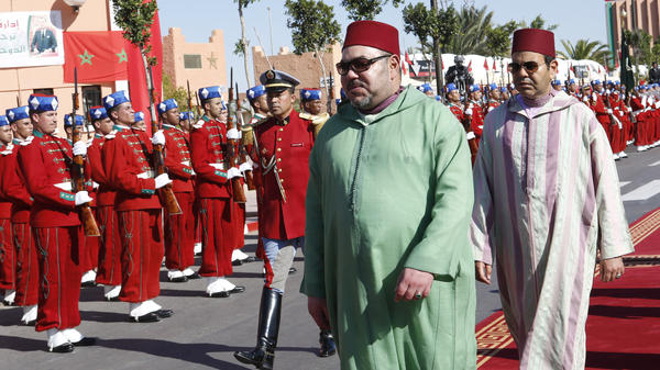 Morocco's King Mohammed VI, shown here in November 2015, introduced changes two years ago that have allowed more than 20,000 sub-Saharan Africans to settle in the country. Such a policy is extremely rare in the Arab world.