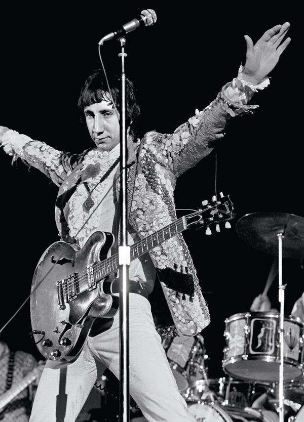Pete Townshend of The Who performs at the Cow Palace in San Francisco, Calif., photographed for <em>Rolling Stone</em> in 1967.