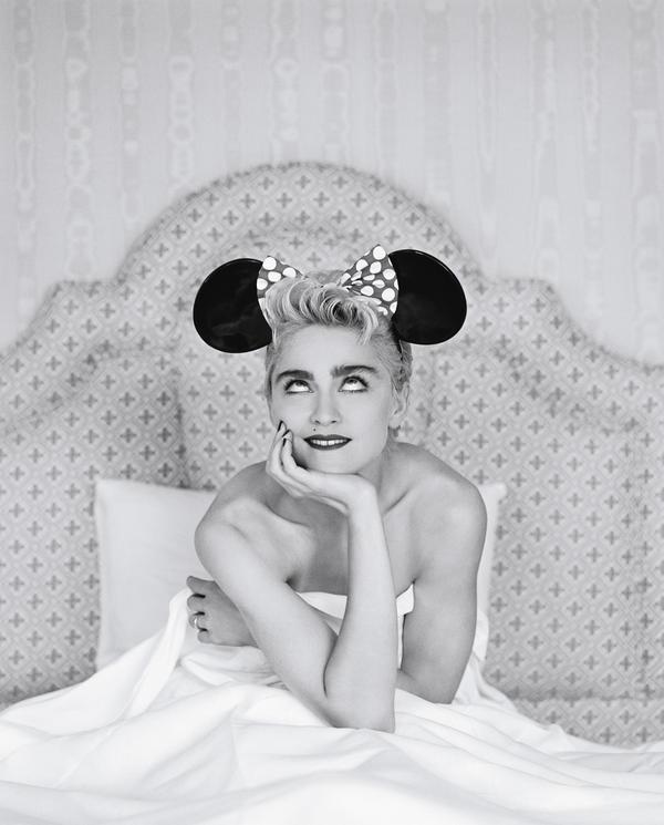 Madonna, photographed for <em>Rolling Stone</em> in 1987.