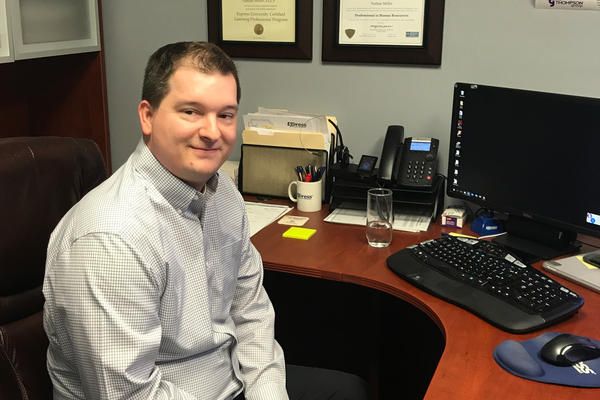 Nate Miller is the owner of Express Employment Professionals, a staffing agency in Muncie, Ind., that screens and places workers at local manufacturing companies.