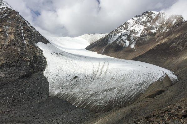 The Tianshan No. 1 glacier is melting fast, receding by at least 30 feet each year. Scientists warn that the glacier — the source of the Urumqi River, which more than 4 million people depend on — may disappear in the next 50 years.