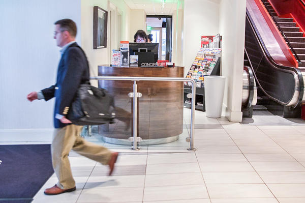 The number of luxury hotels that employ concierges has dropped nearly 20 percent since 2014, according to the American Hotel and Lodging Association.