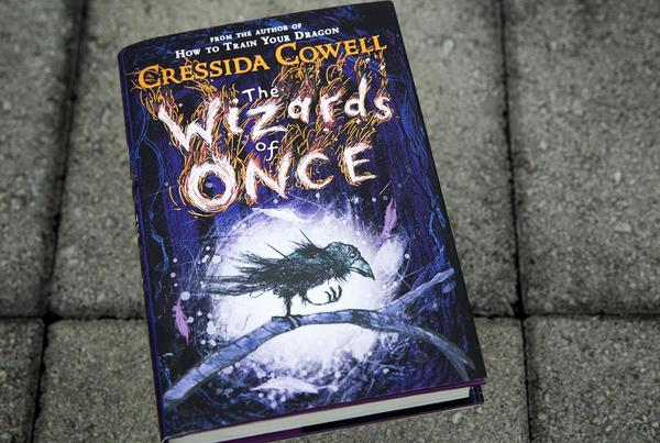 """The Wizards of Once,"" by Cressida Cowell. (Robin Lubbock/WBUR)"