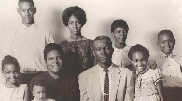 The James Henry Jones family.