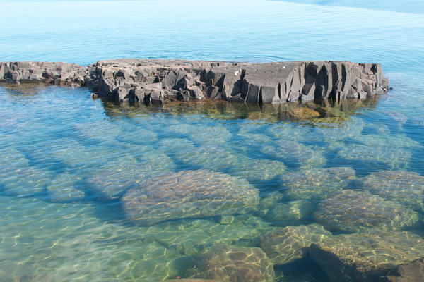 Lake Superior is known for its water clarity, but largely due to quagga mussels in Lakes Michigan and Huron, it's fallen to third place.