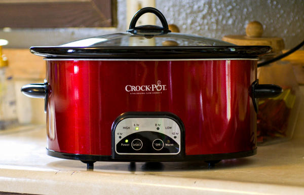 Acheson recommends looking for simple slow cookers with heavy insert pans.