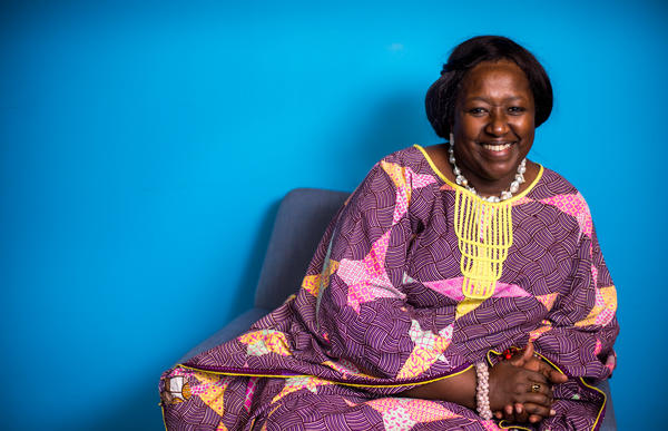 """Dr. Agnes Binagwaho: """"When I was a little mouse, I tried to make as much noise as a lion. When I became stronger, I made less noise because the objective was to change. And sometimes to change, you better study and try to do it without screaming too much."""""""