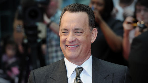 Actor Tom Hanks attends the  premier of <em>Larry Crowne</em> at the Westfield Shopping Centre in London.