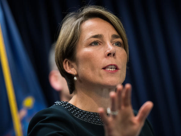 Massachusetts Attorney General Maura Healey is working with state lawmakers on legislation to require better security of credit records.