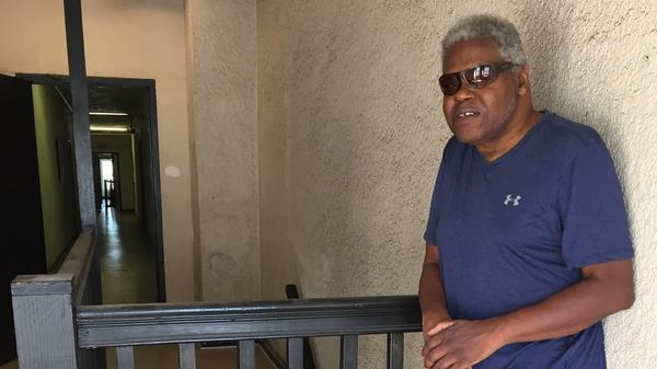 James Brown's modest, walk-up apartment costs $1,300 a month. He pays for it partly with Social Security and the rest is subsidized by the federal government.