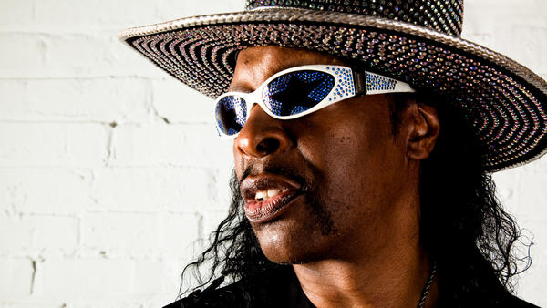 Bootsy Collins' new album, <em>World Wide Funk</em>, is available Oct. 27.