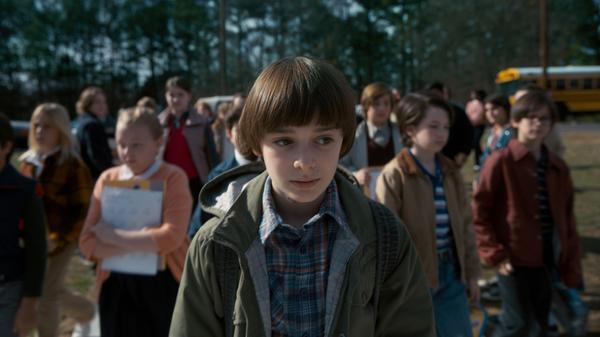 Will Byers (Noah Schnapp) returns in the second season of <em>Stranger Things.</em>