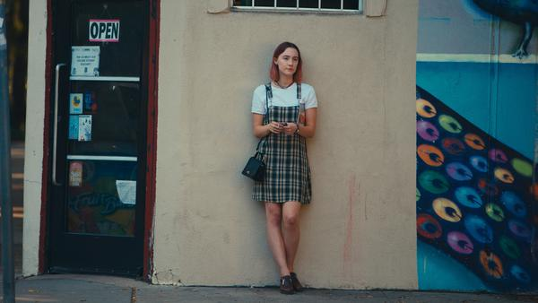 Saoirse Ronan stars as 'Lady Bird' in <em>Lady Bird</em>.