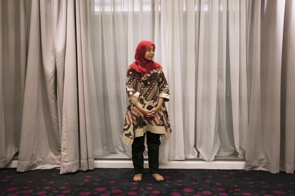Sakdiyah Ma'ruf is a comedian in Indonesia. Now she is breaking ground as a stand-up comedian who wears a hijab while openly mocking religious fundamentalists.