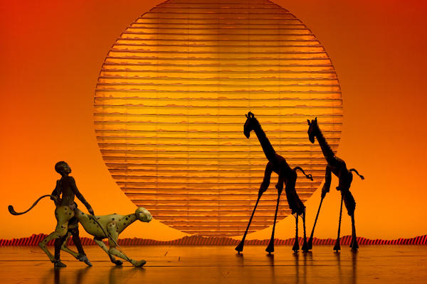 "While in the film ""Circle of Life"" is sung by a voice off-screen, Rafiki takes on the opening number in the <em>The Lion King</em> musical."