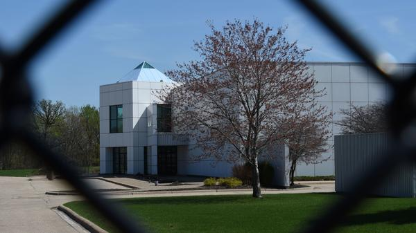 The entrance of Paisley Park.