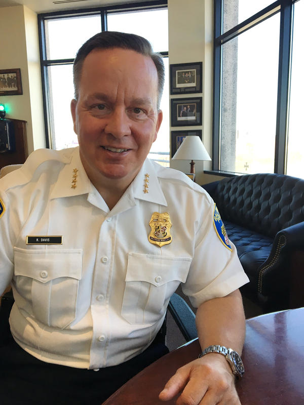 Baltimore City Police Commissioner Kevin Davis says he knows big-city police departments are judged by the murder rate, but there are other aspects to good policing.