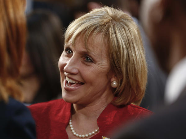 Lt. Gov. Kim Guadagno had focused her gubernatorial campaign on property taxes but has recently taken a harsh tone on illegal immigration.
