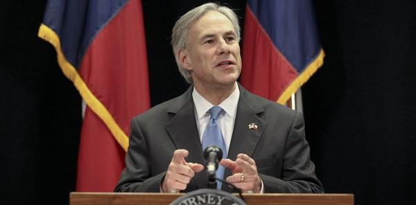 Attorney General Greg Abbott announces an organized scam against people whose information was released online.