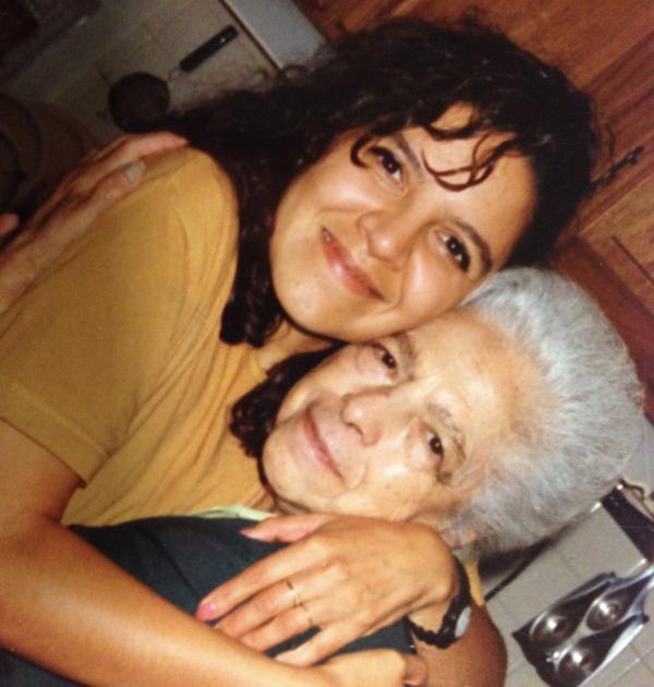 "Listener Irene Luna Guzman dedicates a song this week to her ""Abi Delia."""