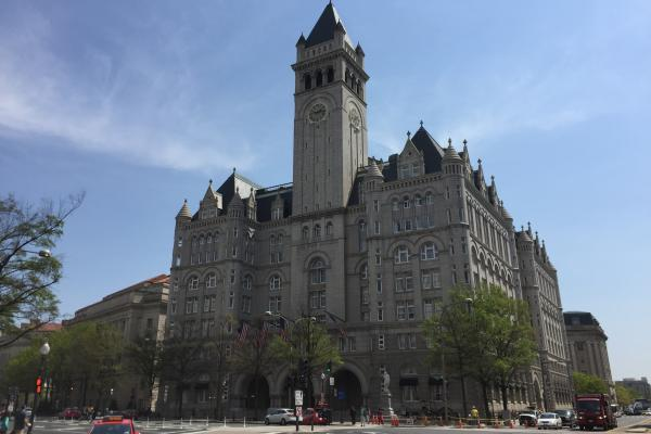 Before Donald Trump began his run for the presidency, The Trump Organization had signed a 60-year lease to occupy the historic Old Post Office Pavilion, just blocks from the White House.