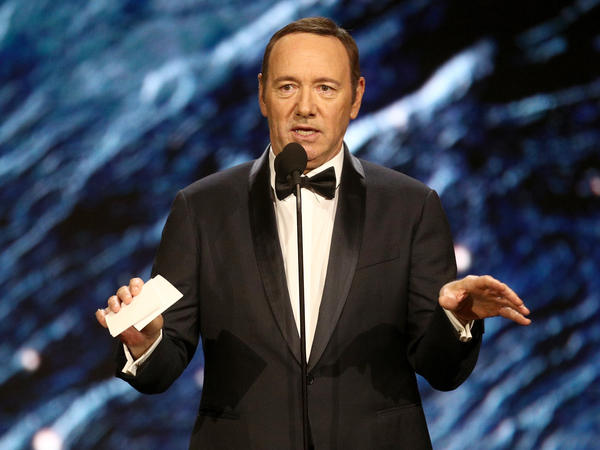 Netflix also says it will not complete post-production work on the film <em>Gore</em>, which Kevin Spacey produced and starred in.