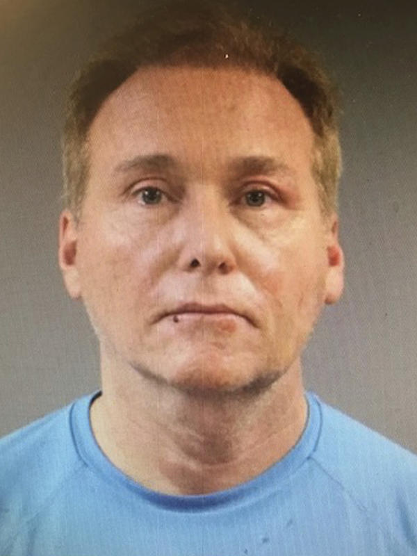 Rene Boucher has been charged with assaulting Sen. Rand Paul in their neighborhood in Bowling Green, Ky. Boucher is seen here in a photo from the Warren County Regional Jail.