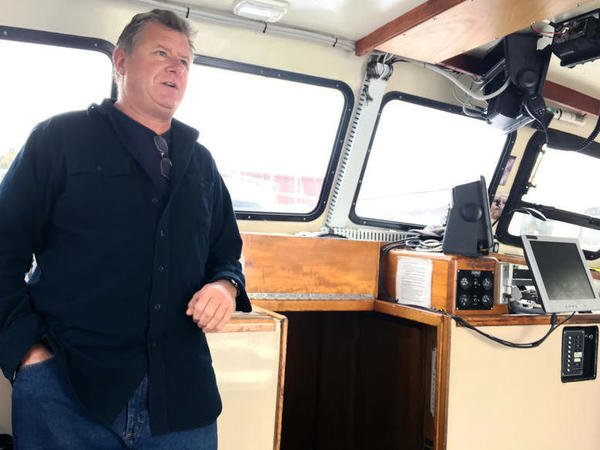 """I think we have to recognize that we have made sacrifices, New England fisherman, that have paid great dividends, and we shouldn't be punished for it,"" says Peter Speeches, who fishes out of Portland, Maine."