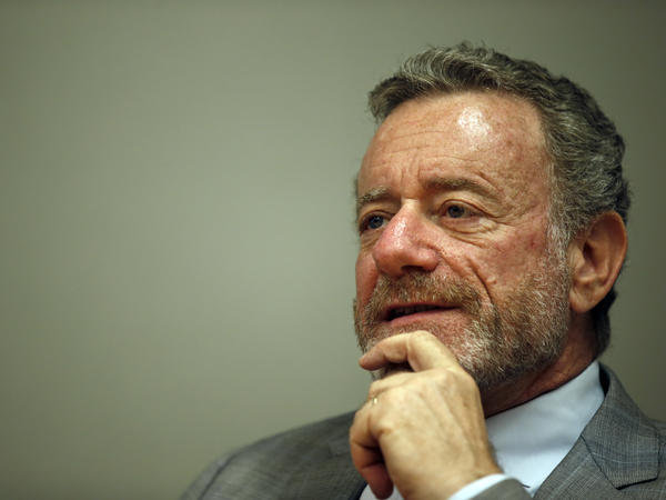 NPR CEO Jarl Mohn, shown here in 2015, said Tuesday that he is going on leave for medical reasons for at least four weeks.