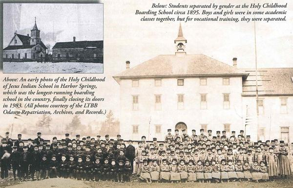 In Harbor Springs, an Indian boarding school forced cultural assimilation for around one hundred years