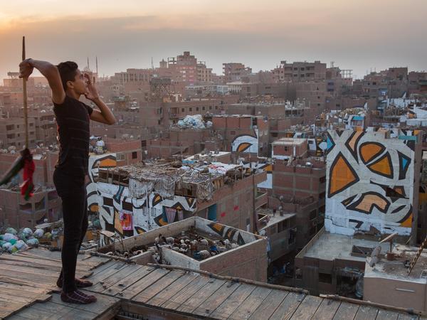 eL Seed: <em>Zaraeeb</em> (Cairo, Egypt)