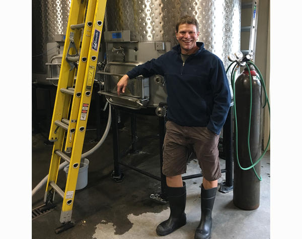 Brett Isenhower says his winery in Walla Walla, Washington, takes a lot of water to make wine. He's busy buying more efficient equipment that will use less water, and planning for the state's coming new required permits for discharging winery wastewater.
