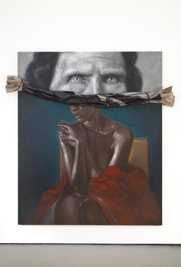 Titus Kaphar: <em>Drawing The Blinds</em>