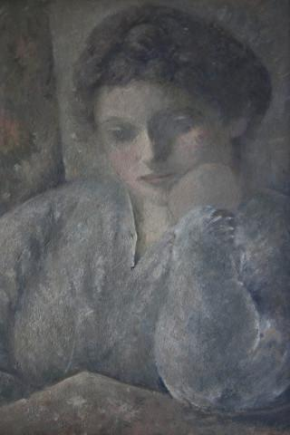 "<p>Otto Stein, ""Untitled I<em>,""</em> oil on canvas, c. 1925. Edward Engelberg said this painting spoke to him in a way none of the other possibilities had. The Munich art dealer who owned the piece returned it to the Engelberg family.</p>"