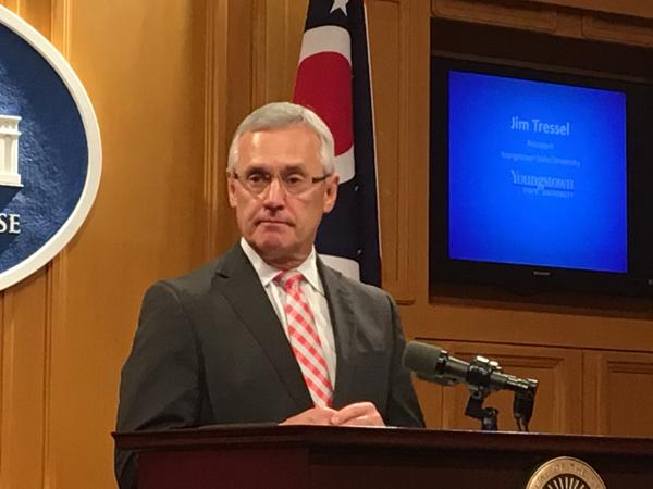 Youngstown State University President Jim Tressel