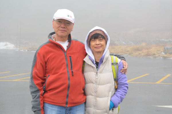 <p>Yu-tai Chia came to Mount Rainier National Park to bring his wife, Li-jen Tseng, who had never been.</p>