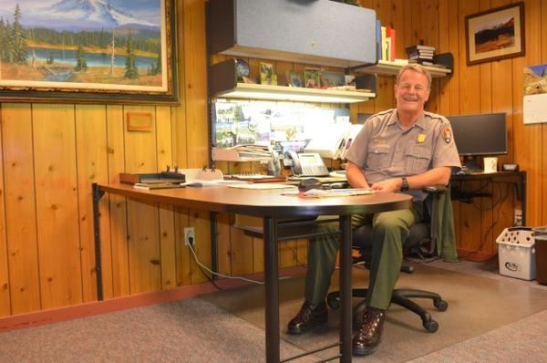 <p>Randy King is the superintendent of Mt. Rainier National Park.</p>