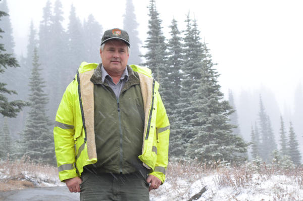 <p>Jim Ziolkowski, known to his coworkers as Jimmy Z, is in charge of all the road and trail maintenance at Mount Rainier National Park.</p>