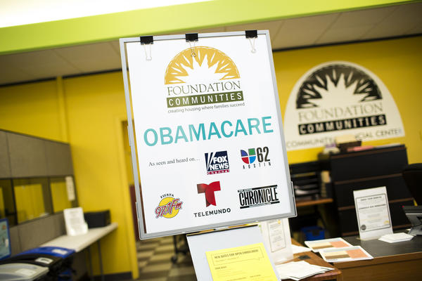 Foundation Communities has seen a spike in Obamacare enrollments this year.