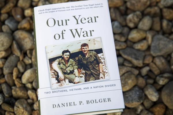 """Our Year of War,"" by Daniel P. Bolger. (Robin Lubbock/WBUR)"