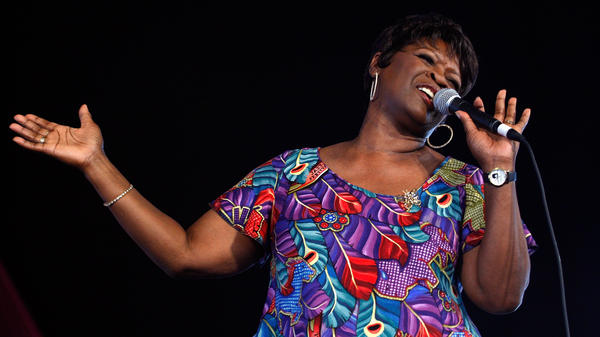 "Irma Thomas (shown performing in 2008) is known as the ""sweet soul queen of New Orleans.""<em> </em>"