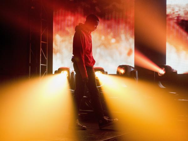 Vince Staples performs at the Buku Music + Arts Project last March in New Orleans.