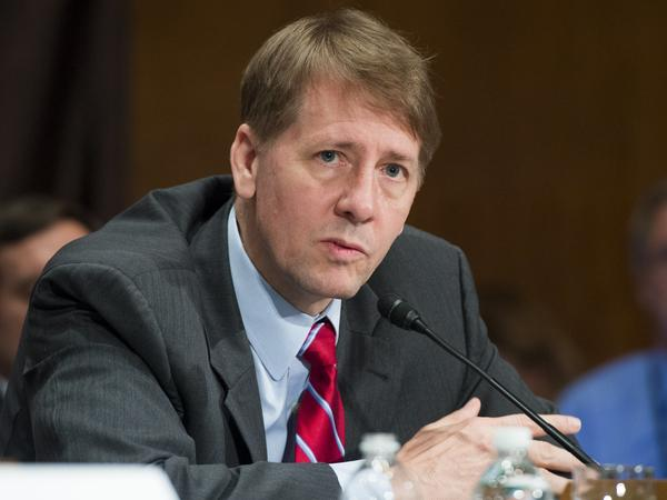 Richard Cordray, who was appointed by President Barack Obama, is stepping down as head of the Consumer Financial Protection Bureau.