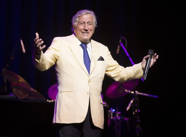 Tony Bennett performs in concert at The American Music Theatre on Sunday, Sept. 24, 2017, in Lancaster, Pa. (Owen Sweeney/Invision/AP)