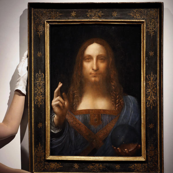 <em>Salvator Mundi</em> is one of only a score of Leonardo da Vinci's works still in existence and the only one held privately.