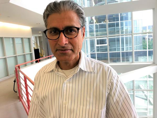 Ali Dhinojwala is the former director of the Polymer Science Department and current H.A. Morton Professor of polymer science at the University of Akron.