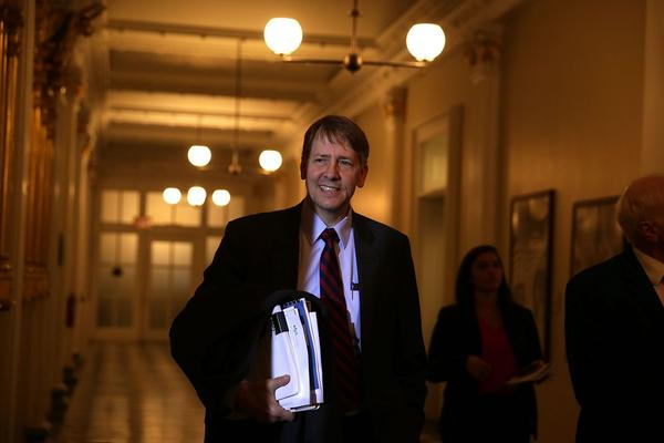 Consumer Financial Protection Bureau director Richard Cordray arrives at a meeting of the Financial Stability Oversight Council Nov. 16, 2016 at the Treasury Department in Washington, D.C. (Alex Wong/Getty Images)