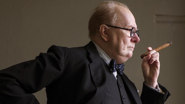 Gary Oldman stars as Winston Churchill in <em>Darkest Hour</em>.