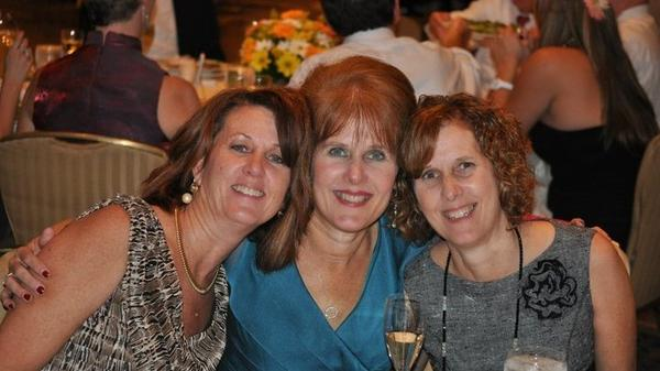 """From left, sisters Sue, Mary and Jane in 2009. Jane says Mary's death at Sandy Hook is """"a weight you kind of drag around in your life."""""""