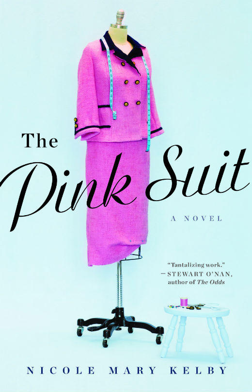 """The Pink Suit,"" a novel by Nicole Mary Kelby, explores the history of Kennedy's pink dress. It will be published in April."